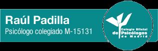 Raul Padilla psicologo colegiado M-15131